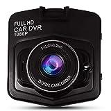 King Shine Dash Cam Full HD 1080P Dashboard Camera Recorder, 170 Wide Angle Car DVR Vehicle DashCam Built in G-Sensor,Best Recording (Dashboard Camera Recorder)