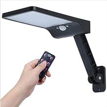 BAJIE zaklamp 1 stuks geüpgraded 48 led ip65 waterdicht zonne-licht draaibare afstandsbediening 3-modus zonne-lamp buitenv...