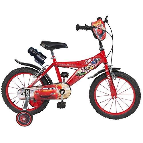 Compatible avec Vélo Enfant 16 Pouces Cars Licence Officielle Disney