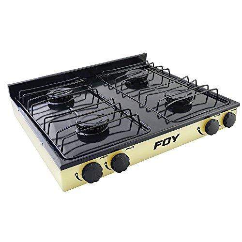 Foy 144706 Estufa de Gas, 4 Quemadores
