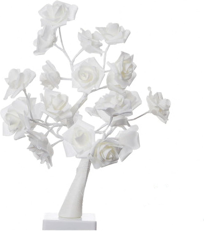 Rose National uniform free shipping 2021 spring and summer new Flower Tree Light 24 Starry War Desk Indoor LEDs