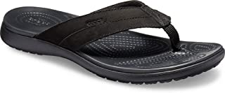 Crocs Men's Santa Cruz Leather Flip