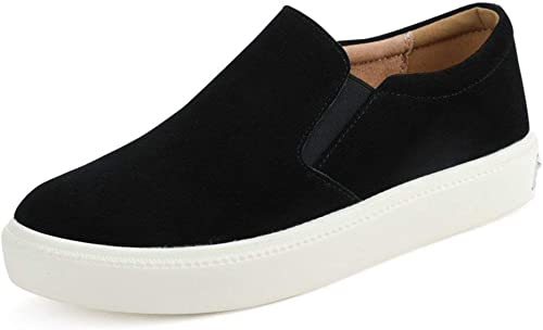 ZCW Chaussures polyvalentes décontractées chaussures Chaussures Lok Fu, Chaussures Plates pour Femmes, Chaussures d'étudiants coréens