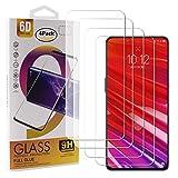 Guran 4 Pezzi Pellicola Protettiva in Vetro Temperato per Lenovo Z5 PRO Smartphone 9H Durezza Anti-Impronte HD Alta Trasparenza Pellicola