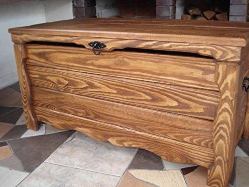 Massive Handgemachte Holzkiste Truhe Box Holz Aufbewahrung Antik Dekoration Wohnen Möbel Sitzbank Schuhschrank Kaffee Tisch WK1