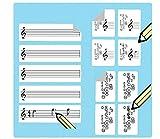 Saxofón pegatinas de dedo multipack (420 pegatinas prácticas), ideal para principiantes y profesores.