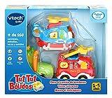 VTech- Tuttut Bólidos Pack 3 Coches, Multicolor, única (3480-242122)