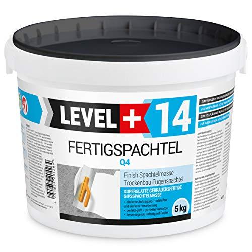 5 kg Fertigspachtel Spachtelmasse Glättspachtel Fugenspachtel reinweiss Weiß RM14