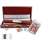 Kai Tai Inc 4 Pushers Complete American Mahjong Set in Wooden Case, 166 Tiles(Mah Jong mah Jongg Mahjongg)