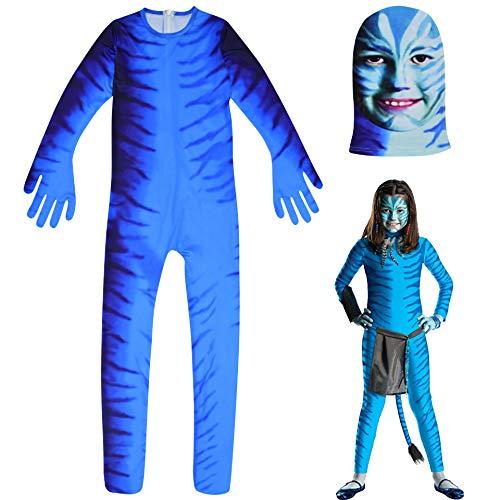 COOGG Halloween Kostuum Cosplay Kostuum Avatar Role-Playing Jumpsuit