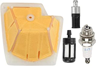 Allong Air Filter with Fuel Oil Filter Spark Plug for Stihl MS270 MS280 MS270C MS280C Chainsaw Tune Up Kit