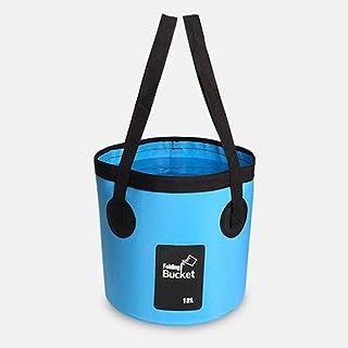 NMBD Produit extérieur 12L 20L Sacs Eau étanche pêche Seau Pliable Seau Portable Water Container Sac de Rangement Porte-Pa...