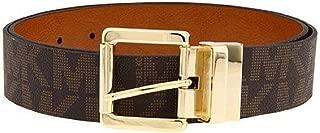 Womens Signature Reversible Belt Brown