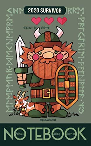 Valhalla Viking Warrior Notebook - Éleveur de chèvre: carn