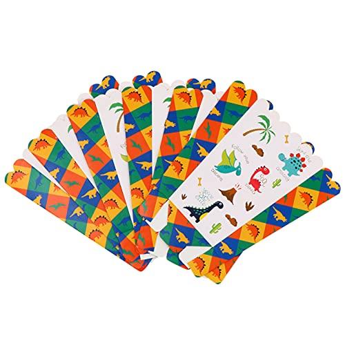 TomaiBaby Cajas de Palomitas de Maíz Contenedores de Papel Dinosaurio Cuencos de Palomitas de Maíz para El Cine Decoración Nocturna Fiesta Favor 6 Piezas