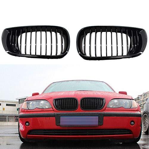 SBCX Autoteile, für BMW E36 M3 97 99 Sport-Nierengitter vorne, schwarz glänzend + M Farbe