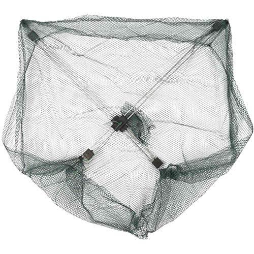 ACAMPTAR 50 50 cm Regenschirm Krabbe Koeder Werfen Fischen Senkmasche Gruen Kunststoff