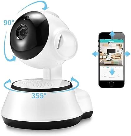 Smart Wifi HD câmera para segurança em casa com áudio, noite e função de detecção de movimento, pode monitorar e conversar remotamente com app de celular