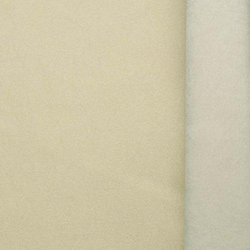 (5,99€/m) Art. 6135 (beige-lichtgrau) extra softer Stoff mit wasser & schmutzabweisender Teflon Imprägnierung - Meterware