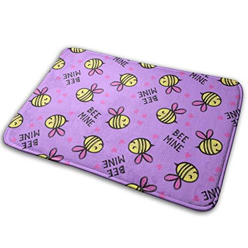 Tapis de paillasson pour Tapis de Bain Bee Mine, Tapis antidérapant pour Salle de Bain d