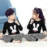 LinZX Algodón otoño Conjunto de Pijama de los niños para los bebés Inicio,Short-2,2T