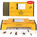 Best Roach Killers - Stingmon 12Pack Cockroach Insect Roach Killer Glue Boards Review