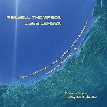 "Camerata Singers: ""Works Of Randall Thompson & Libby Larsen"""