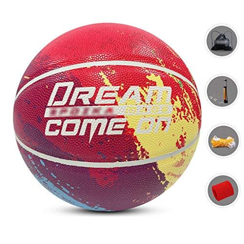 Buy YE ZI Basketballs- Standard Basketball Indoor and Outdoor No. 7 Basketball Size 9.7 inches (24.6...
