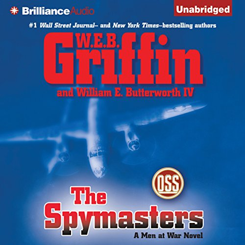 The Spymasters audiobook cover art