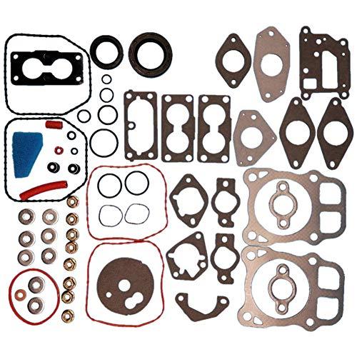 Tuzliufi Complete Rebuild Head Top Bottom End Engine Gasket Set Kit for CH18 CH20 CH620 CV18 CV20 CV620 CV640 CH CV 18 20 620 640 24 755 03-S 107-S S 03S 107S 2475503S 24755107S New Z487