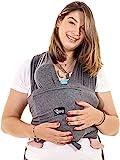 Koala Babycare - Fular Portabebés fácil de usar (fácil de colocar), unisex ajustable, la mochila portabebes multiusos apropiada hasta 10 kg. Fular portabebés elastico - Diseño Registrado KBC®