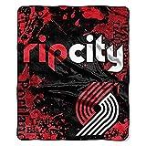 The Northwest Company NBA 'Dropdown' Raschel Throw Blanket, 50' x 60' , Portland Trailblazers
