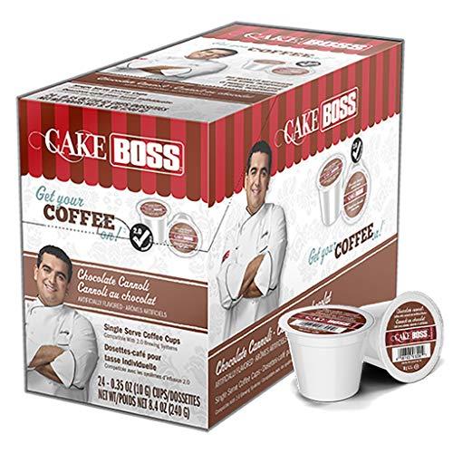Cake Boss Coffee, Chocolate Cannoli, 24Count
