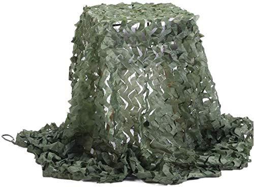 Tela de sombra SLL- Anti-cámara Camuflaje red de camuflaje de la selva de la sombra al aire libre cubierta de satélite anti-falsificación de red verde militar protector solar, Tela Oxford + cuerda de nailon., 2x3M