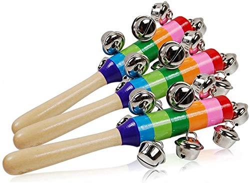 Buy Bargain Rattle Baby Children Kids Funny Handbells Developmental Toy Bed Bells (Color : As Shown,...