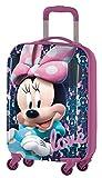 Disney Minnie D97695 Equipaje Infantil, 55 cm, 33 Litros, Rosa