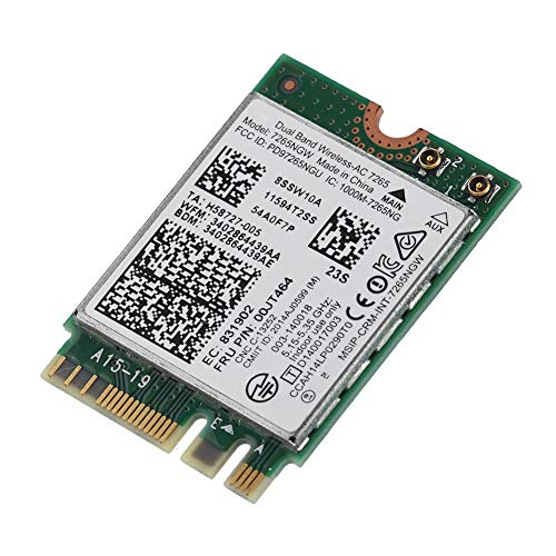 Adaptador Red inalámbrico Intel Dual Band Wi-Fi Card