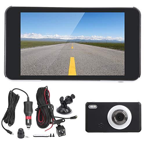 Tomanbery Cámara de visión Trasera Monitor Cámara DVR para automóvil Confiable para Accesorio práctico para Viajes de Larga Distancia para una conducción Relajante en Viajes por Carretera