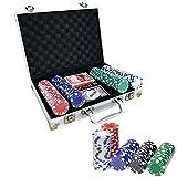 Poker Fichas Poker Maletin Poker Set Juego de Poker Set...