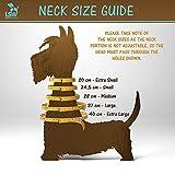 Hundegeschirr für Kleinhunde, damit er nicht zieht – Atmungsaktiv, aus Baumwolle, getupftes Muster – Vielfalt an Farben und Größen Schwarz Klein - 4