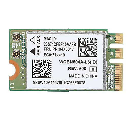 Adaptador de Tarjeta de Red de Placa inalámbrica de Banda Dual 5G para Qualcomm Atheros QCNFA34AC 867M Bluetooth 4.0 Apto para Lenovo B50-80 E460 E560 Yoga 500 Series