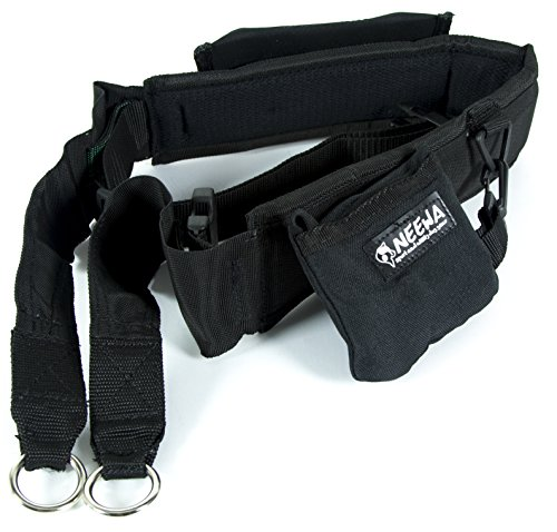Neewa Dog Walking Belt with Pocket and Collapsing Bowl, Ideal for Trekking, Hiking, Running with Dog, and Hands Free Dog Leashes. Can be Used as a Dog Running Waist Belt or Dog Belt for Walking