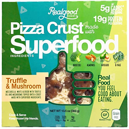 Real Good Foods, Low Carb - High Protein - Gluten Free, SuperFood White Truffle (4 Count)