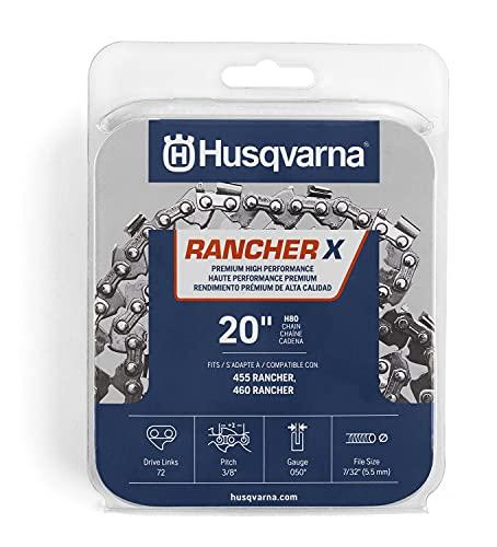 Husqvarna 531300441 H-80 Chainsaw Chain, Orange/Gray
