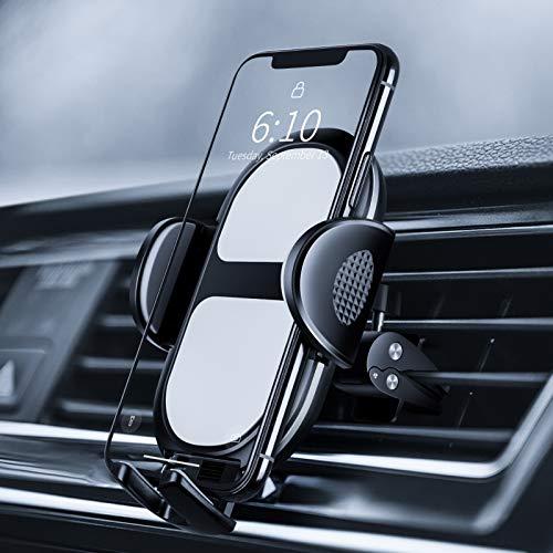 Amazon Brand - Eono Porta Cellulare da Auto, Supporto Telefono Rotazione Universale 360°, Accessori Auto per Cellulare, Auto Universale per iPhone Samsung Xiaomi Huawei e GPS Dispositivi