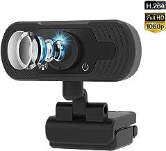 Cámara web con micrófono, cámaras web FUVISION para