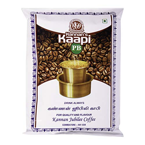 Kannan Jubilee Coffee Company Filter Peaberry Coffee Powder (500 g)