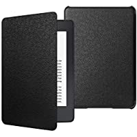 JETech Funda Nuevo Kindle Paperwhite (10.ª generación, la Versión del 2018) con Auto-Sueño/Estela, Negro