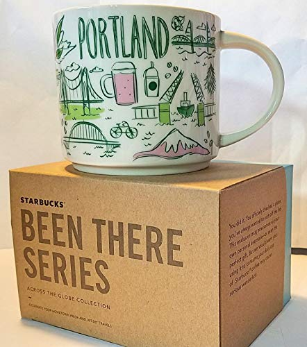Starbucks Been There Series Coffee Mug (Portland) 14Oz. Mug