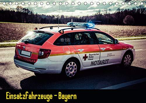 Einsatzfahrzeuge - Bayern (Tischkalender 2021 DIN A5 quer)